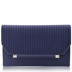 Quincy - Selena - Premium Women Wallet on Chain/ Dompet Wanita Tas Selempang - Navy