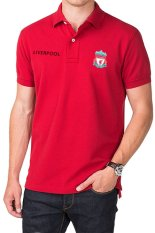 QuincyLabel Polo Soccer Shirt liverpool-Red
