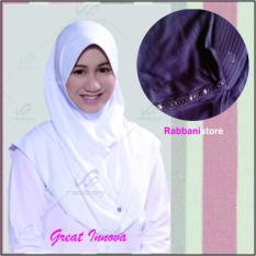Rabbani Kerudung Great Innova Jilbab Sekolah [Abu]