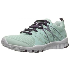 Reebok Womens Realflex Train 4.0 Cross-Trainer Shoe, Mist/Meteorite/White/Silver Metallic, US - intl