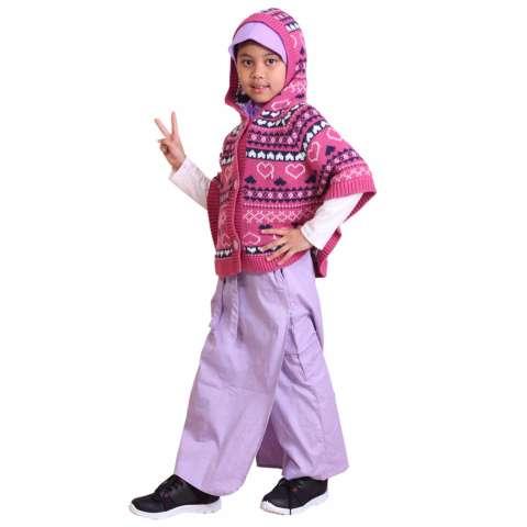 Fashionflower Stelan Kids Anak Cewek Siau Wei Model Sabrina Rok ... 7612fd0b5f