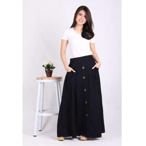 HRV Shop Kemeja Wanita Emma - Bata. Source · Rok Jeans Panjang Hitam (5003
