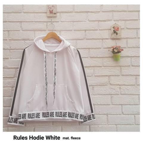 Rules Hoodie - Jaket Hoodie Wanita