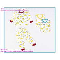SALE Setelan Baju Tidur Anak Laki Laki Banana Celana Panjang TERMURAH
