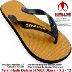 Sandal Jepit Swallow Modern 109 GR [Caramel Cream]. Ukuran 9.5 - 12. Bebas Pilih SIZE JUMBO Tersedia