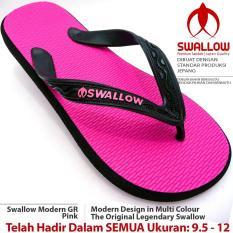 Sandal Jepit Swallow Modern 109 GR [PINK]. Ukuran 9.5 - 12. Bebas Pilih Nomor JUMBO Tersedia