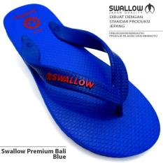 Sandal Jepit Swallow Premium Bali [Blue]  Size Tersedia Uk. 9.5 - 11.5 Warna Biru