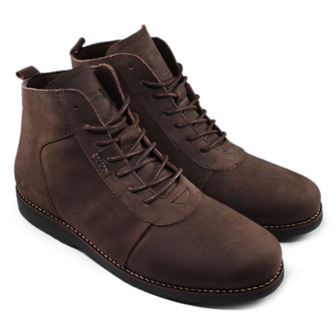 Brodo Sepatu Boots Kulit Asli 100 Bradleys Anubis Pull Up Leather ... bdaf9155b4