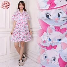 SB Collection Baju Tidur Angelina Dress Daster Piyama Import-Pink