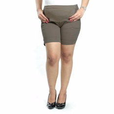 Sb Collection Celana Hamil Pendek Hotpants Intan - Abu-Abu