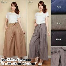 SB Collection Celana Jelita Kulot Rok Pant-Mocca