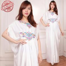 SB Collection Gamis Maxi Longdress Kaftan Arella - Putih