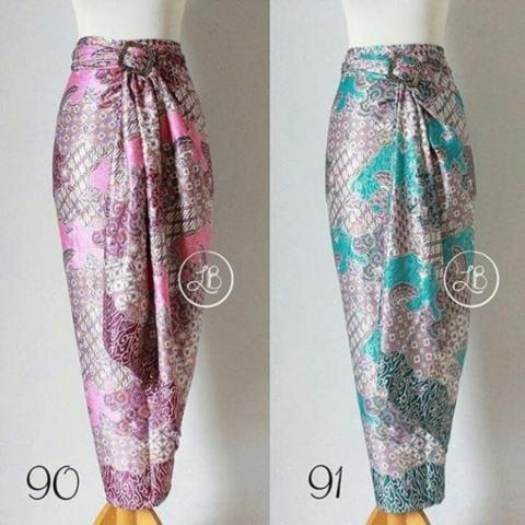 SB Collection Rok Lilit Desty Maxi Jumbo Batik - Tosca