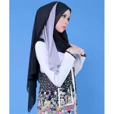 Selendang Instan Casual Wanita Muslim Flowy Fit Swarovski By Zoya