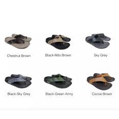 Sendal Casual Pria - Sandal New Era Arizona - Chestnut Brown