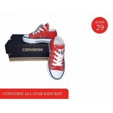 sepatu anak anak murah kets perempuan / sneaker anak anak kets warna merah