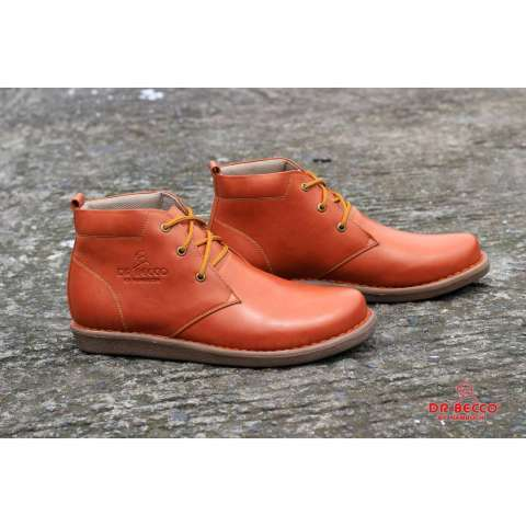 Sepatu Boots Pria Drbecco Original Sepatu Brodo Sepatu Kulit Asli ... 15373213e2