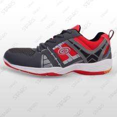 Sepatu Conae Badminton Expander Merah Abu Abu
