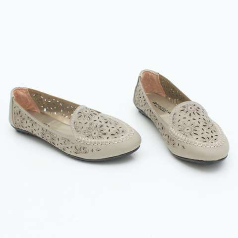 Sepatu Flat Shoes Murah Gratica B07RJB Abu