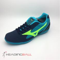 Sepatu Futsal Mizuno Original Sala Club 2 IN Drees Blues Q1GA185114