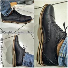 Sepatu Kulit Bukan Imitasi High Class Premium Best Sale Fashion Pria Terbaik