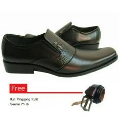 Sepatu kulit pria / Sepatu Pantofel kickers 2248