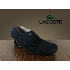 Sepatu Lacoste Slip On Pria Slop - Sepatu Casual Pria Kulit Suede - Sepatu Branded