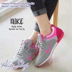 Sepatu Premium Ultimate Kw - Abu Pink - ALCP404TED