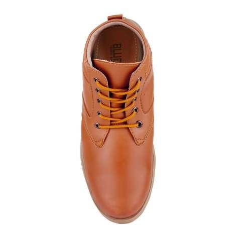 Blues Footwear Sepatu Pria Semi Boot 01 - Tan
