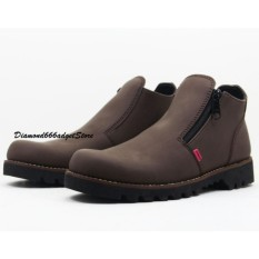 Sepatu Pria Kickers Boots Safety Resleting  / Sepatu Casual / Sepatu Kerja / Sepatu Formal / Sepatu Kuliah