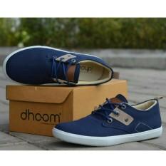 Sepatu Pria Sanati / Casual Remaja dan Dewasa - DHOOM RIDDICK - Hitam / Coklat / Abu-abu / Biru Dongker