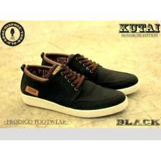 Sepatu Prodigo Footwear Kutai Black