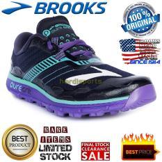 Sepatu Wanita Trail Adventure - Running Brooks Puregrit 5120230-1B474 -  Peacoat Passion 9085398847