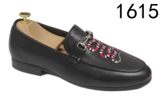 Sepatu Santai Pria Inggris Kulit Bernapas Sepatu SLIP ON Sepatu Kulit (1615 Ular)