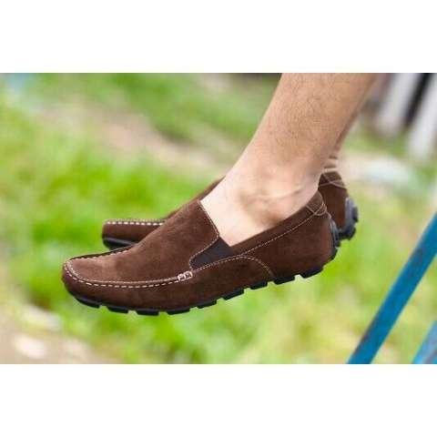 Jual Sepatu Slop Pria Kickers Sepatu Cowok Slip On Loafers Sepatu Kerja Casual Santai Formal Harga