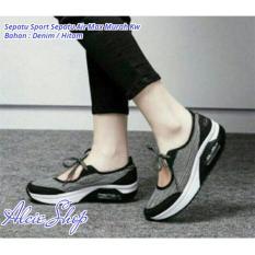 Sepatu Sport Sepatu Air Max Murah Kw - Hitam - ALCH904TED