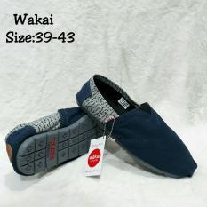Sepatu Wakai Navy Crek uk39-43