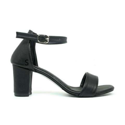 Sepatu Wanita Hak Tinggi NIKITA Pump Heels Black Hitam