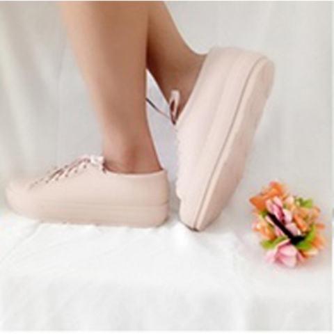 Sepatu Wanita Jelly Sneakers Silikon Shoes Cewek Silicone Kets DD6382ELS bca47437a5