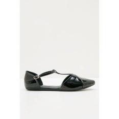 Sepatu Yongki Komaladi Original - TORA 41190018 FLAT SHOES BLACK