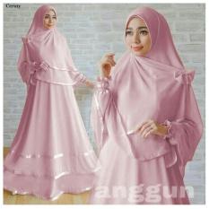 Gamis Anggun Syar'i Pink DW