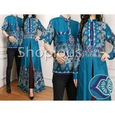 Shoplos Baju coupel ZZ/ Baju Coupel Bella/ Baju Pesta / Baju Pasangan batik / Batik Coupel / Gamis Coupel/ Baju Family / Baju Ayah Bunda/Baju Coupel