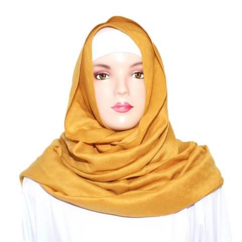 Beli Shvana Pashmina Ayla Mustard Kuning Harga Rp 45.000 -. Source · Pashmina Zahra Semi Instan Set Cadar ...