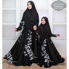 Silentriver88 gamis muslim syar'i ibu dan anak maxmara rebeca couple