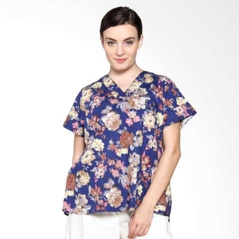 ... Blus Bagus Kualitas Source · fashion wanita kualitas bagus blouse dan Source Jual Simple Ladies Sl Top Cotton Flower Atasan Wanita