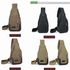 Sloof Bodypack Bag Tas Selempang Pria / Men Sling Shoulder Bags - Warna Random