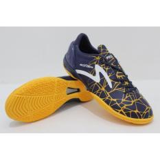 Specs Accelerator Spyder Blue Yellow  Sepatu Futsal
