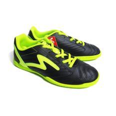 Specs Brave In Black Electricity  Sepatu Futsal