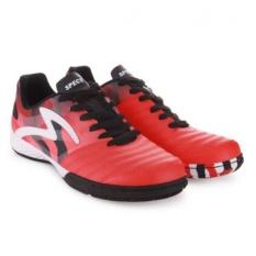 Specs Metasala Spike Signal Orange Black White   Sepatu Futsal