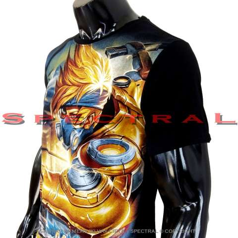 Spectral - Kaos Mobile Legend HAYABUSA T-Shirt Distro Fashion 100% Soft Cotton Combed